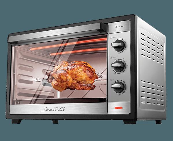 Smart tek cocina horno el ctrico 60lts sd6060 for Horno electrico dimensiones