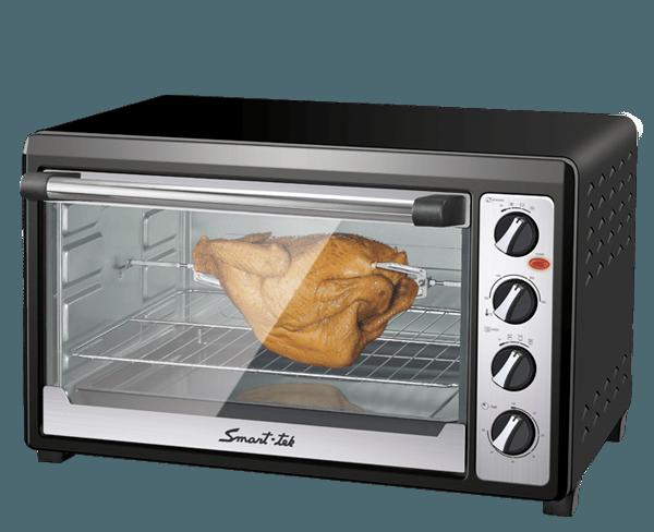 Smart tek cocina horno el ctrico 60lts for Hornos de cocina electricos